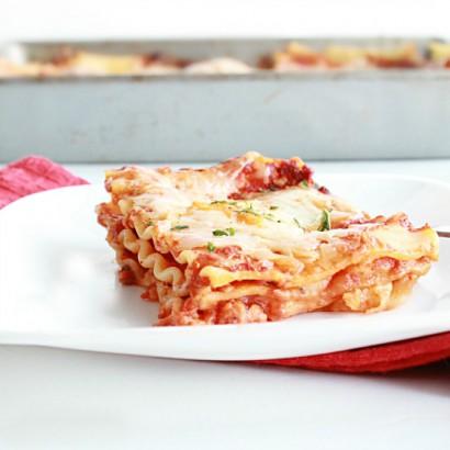 Perfect Three Cheese Lasagna (No Ricotta Cheese)   Tasty Kitchen: A Happy Recipe  Community!