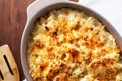 Roasted Cauliflower and Smoked Cheddar Gratin | Tasty ...