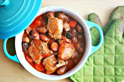 Beer-Braised Chicken and Root Vegetable Stew | Tasty Kitchen: A Happy ...
