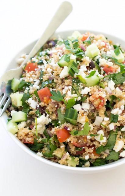 Greek Kale Quinoa Salad | Tasty Kitchen: A Happy Recipe Community!