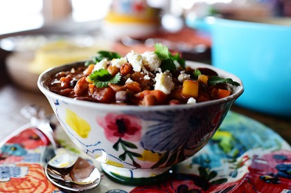 Veggie chili the pioneer woman veggie chili forumfinder Image collections