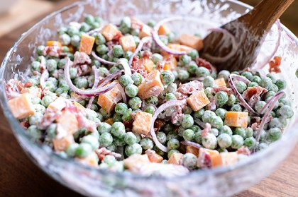 Pea Salad The Pioneer Woman