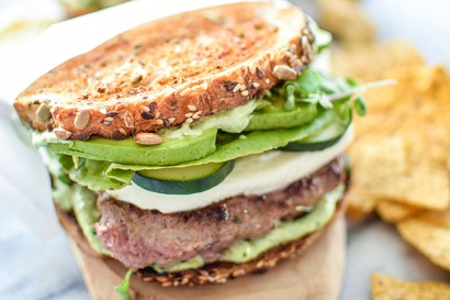 Green Goddess Burgers | Tasty Kitchen: A Happy Recipe Community!