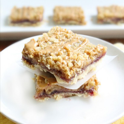 Peanut Butter and Jelly Bars | Tasty Kitchen: A Happy Recipe Community ...