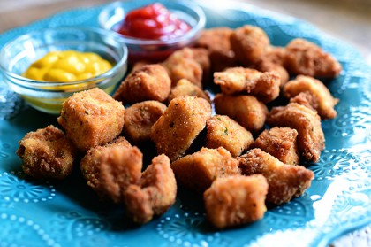 Homemade chicken nuggets the pioneer woman chicken nuggets forumfinder Image collections