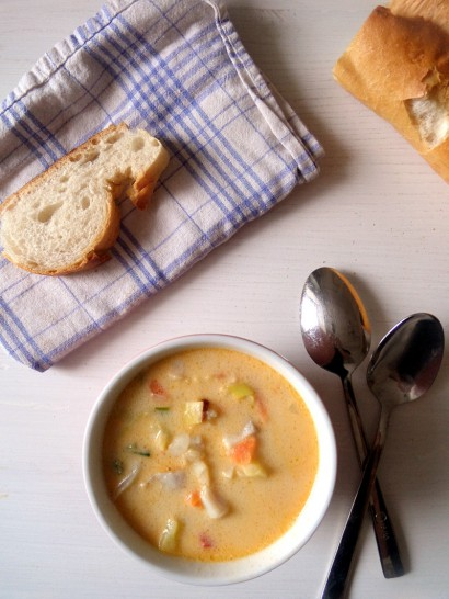 Fish vegetable soup tasty kitchen a happy recipe community for Fish and vegetable recipes