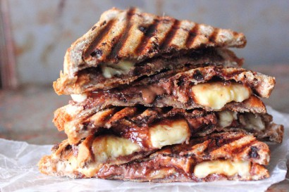 Grilled Peanut Butter & Banana Panini | Tasty Kitchen: A Happy Recipe ...