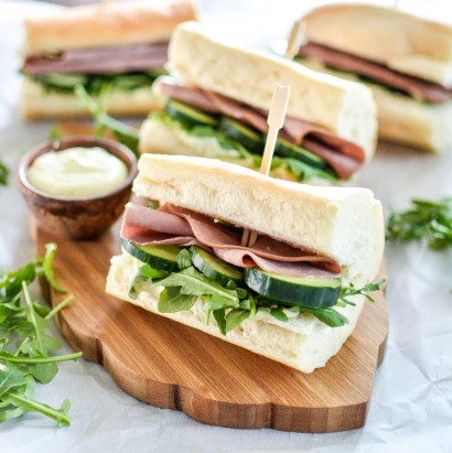 Roast Beef And Horseradish Coleslaw Sandwiches Recipe ...