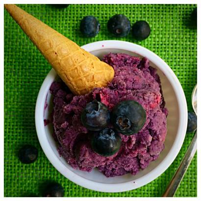 Blueberry Cardamom Sherbert | Tasty Kitchen: A Happy Recipe Community!