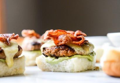 Chipotle Bacon Turkey Sliders with Avocado Mayo | Tasty ...