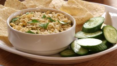 Gluten-Free Tortilla-Crusted Hot Crab Dip | Tasty Kitchen: A Happy ...