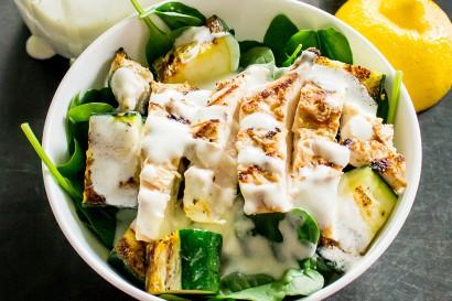 grilled lemon yogurt chicken recipe