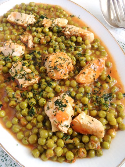 Romanian pea and chicken stew tasty kitchen a happy recipe community forumfinder Gallery