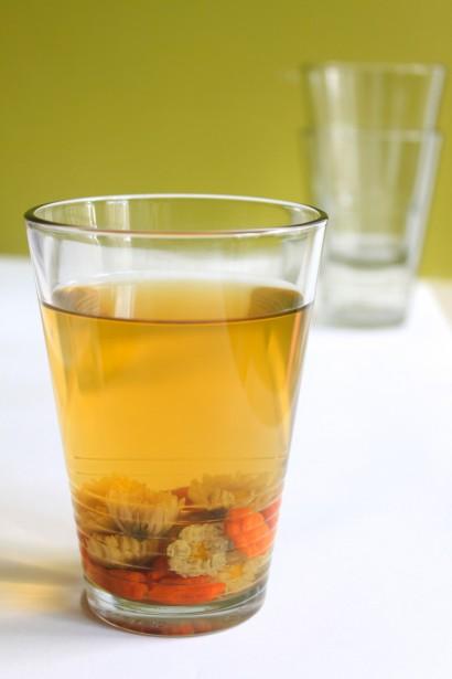 Chrysanthemum And Goji Berry Tea Tasty Kitchen A Happy Recipe Community