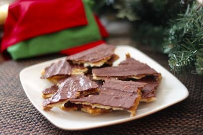 Christmas Crack Recipe.Christmas Crack