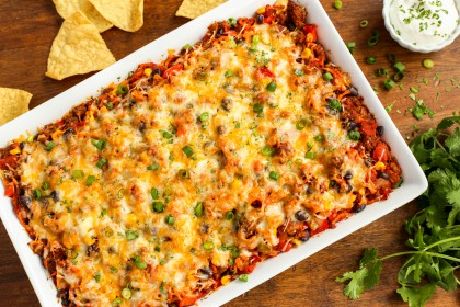 Cheesy Beef and Sweet Potato Taco Casserole | The Pioneer Woman