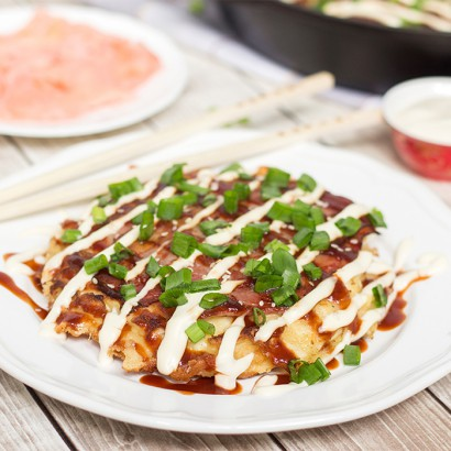 Japanese Cabbage Pancakes Okonomiyaki Tasty Kitchen A Happy Recipe Community
