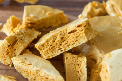 Homemade Honeycomb Candy The Pioneer Woman