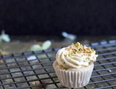 Zucchini Mini Cupcakes with Honey Pistachio Buttercream | Tasty ...