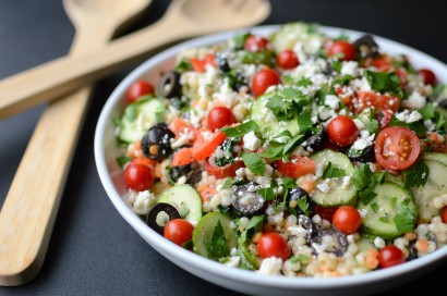 Greek Pearl Couscous Salad Tasty Kitchen A Happy Recipe Community