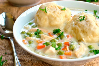 recipe: what is a good accompaniment to chicken and dumplings [13]