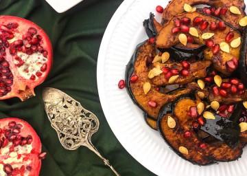 The Kitchen Show Recipes Acorn Squash Pomegranate