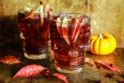 Spiced Apple Cider Pomegranate Moscow Mules | Tasty Kitchen: A Happy ...