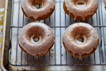 Gluten-Free Pumpkin Doughnuts