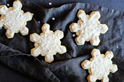 Snowflake Sugar Cookies Gluten Free