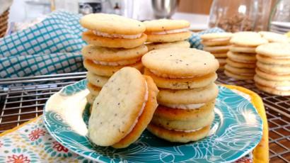 Gluten-Free Lemon Poppy Seed Sandwich Cookies | Tasty ...