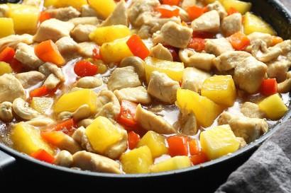 Chinese Cashew Pineapple Chicken Tasty Kitchen A Happy