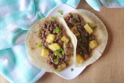 Paleo pineapple beef tacos tasty kitchen a happy for Pioneer woman fish tacos