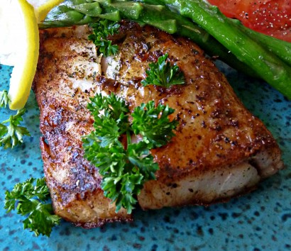 Corvina with butter and herbs tasty kitchen a happy for Corvina fish recipes
