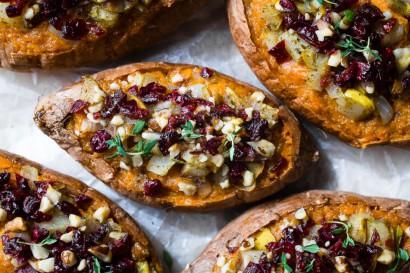 Harvest Stuffed Sweet Potatoes Tasty Kitchen A Happy Recipe Community
