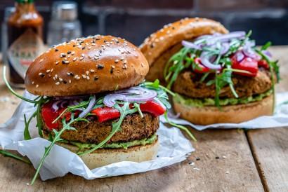 Easy Veggie Burger Vegan And Healthy Tasty Kitchen A Happy Recipe Community