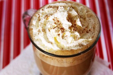 Tasty Kitchen Blog: Eggnog Latte. Photo and recipe from TK member Alice Currah of Savory Sweet Life.