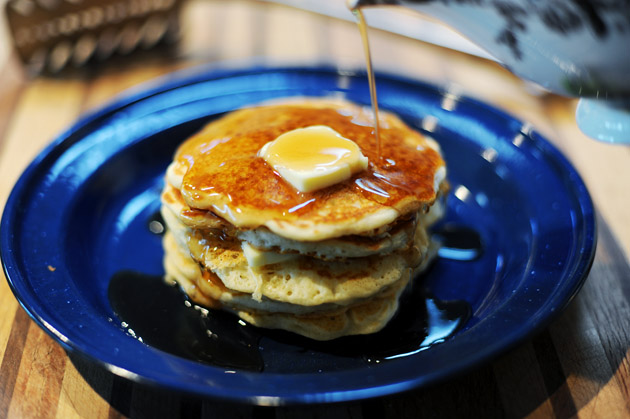 Tasty Kitchen: Perfect Pancakes from The Pioneer Woman.