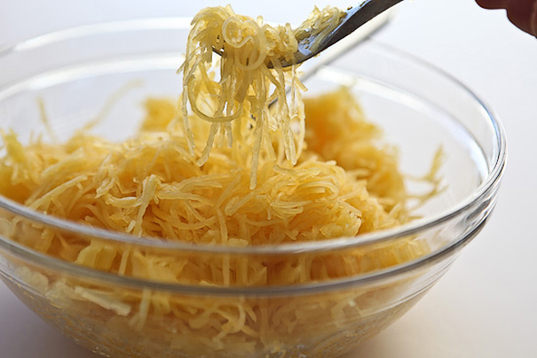 Tasty Kitchen Blog: How To Bake Spaghetti Squash. Guest post by Jaden Hair of Steamy Kitchen.