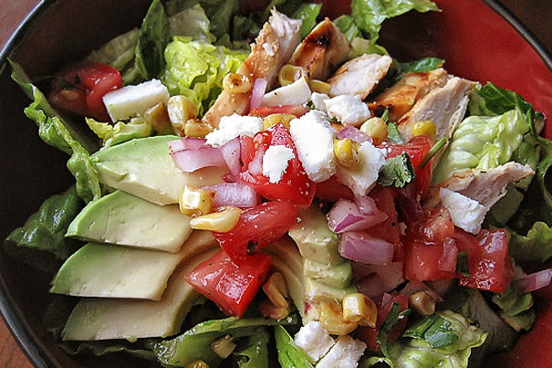Tasty Kitchen Blog: Main Dish Salads (Grilled Chicken Salad with Chipotle-Lime Vinaigrette, from TK member Natalie Perry of Perry's Plate)
