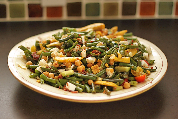Tasty Kitchen Blog: Main Dish Salads (Crunchy and Cold Bean Salad, recipe submitted by TK member Jennie Menke)