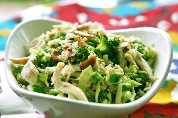 Tasty Kitchen Blog: Main Dish Salads (Oriental Chicken Slaw, recipe submitted by TK member Kelsey Barnard)