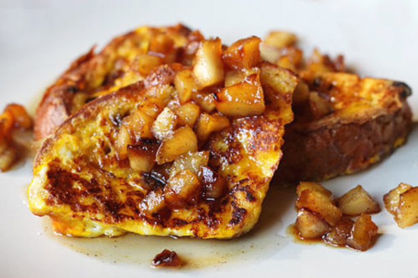 Tasty Kitchen Blog: Meet Deborah Mele of Italian Food Forever (Panettone French Toast with Caramelized Apples)