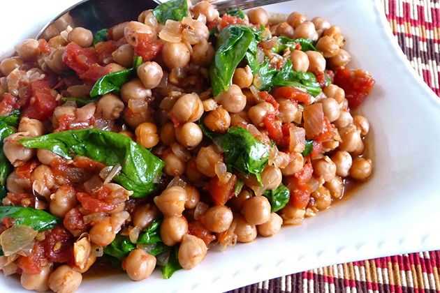 Tasty Kitchen Blog: Slow Cooker Recipes (Crockpot Gingered Chickpeas and Spicy Tomato Stew, recipe submitted by TK member Dara Michalski of Cookin' Canuck)