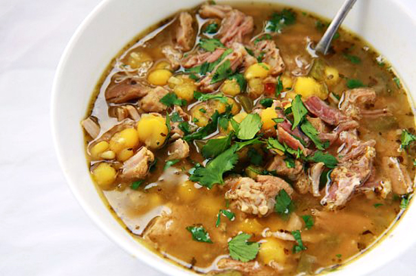 Tasty Kitchen Blog: Slow Cooker Recipes (Posole: Pork and Hominy Soup, recipe submitted by TK member Meseidy of The Noshery)