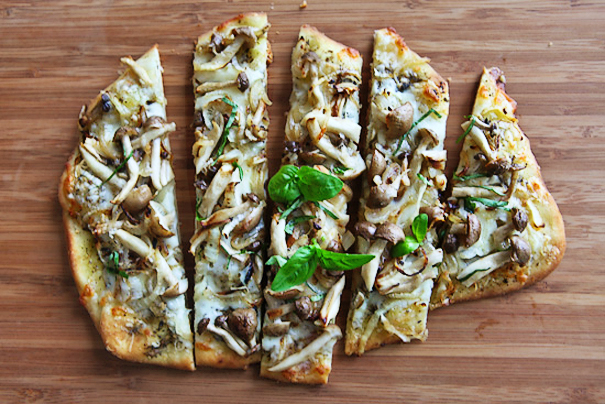 Tasty Kitchen Blog: Globalize Your Pizza. Guest post by Jaden Hair of Steamy Kitchen.