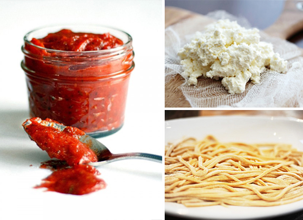 Tasty Kitchen Blog: Homemade Ingredients (For Pizza and Pasta)