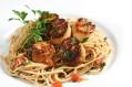 Tasty Kitchen Blog: Scallops 'n Pasta. Photo and recipe from TK member Jaden Hair of Steamy Kitchen