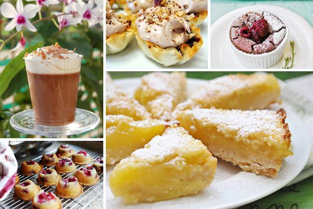 Tasty Kitchen Blog: The Theme is Bridal Showers! (Dessert)