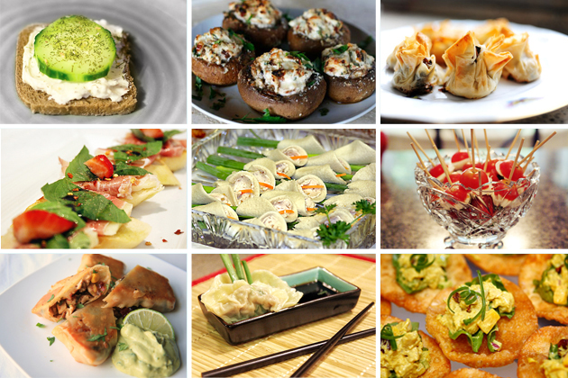 Tasty Kitchen Blog: The Theme is Bridal Showers! (Finger Food)