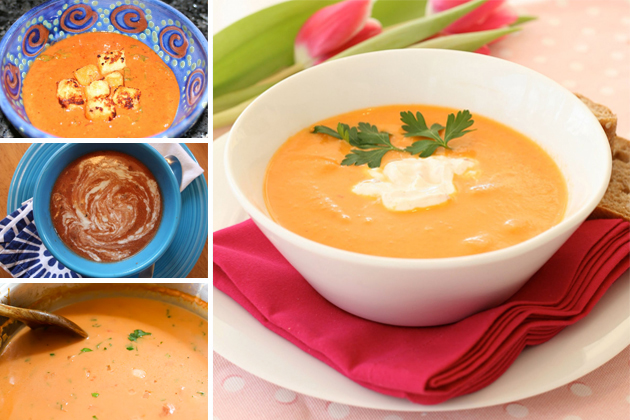 ... tomato soup roasted tomato and sherry soup pioneer woman tomato soup
